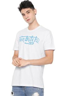 Camiseta Von Dutch Riders Since Branca