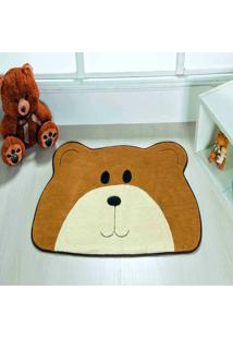 Tapete Dourados Enxovais Formato Urso Carinho Caramelo