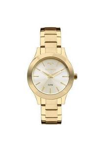 Relógio Technos Feminino Classic Analógico Dourado 2035Ffr4X