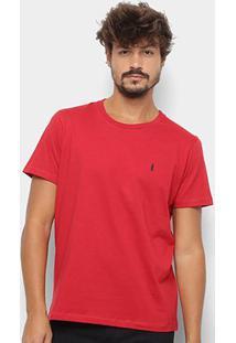 Camiseta Coca-Cola Estampa Garrafa Masculina - Masculino-Vermelho