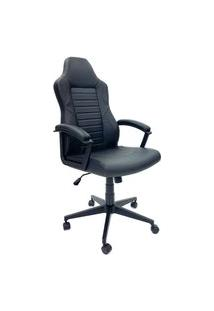 Cadeira Office Byartdesign Gamer Preto