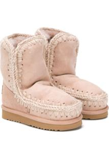 Mou Kids Ankle Boot Eskimo - Rosa