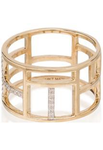 Mateo Anel Tralis De Ouro 14K Com Diamantes - Gold