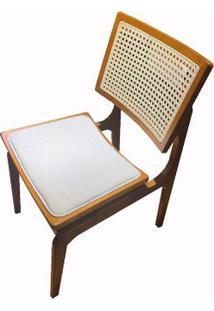 Cadeira Venus Sextavada Em Madeira Cera Mel - 53498 - Sun House