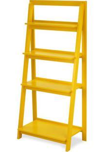 Estante Escada Conceito Cor Amarela - 23196 Sun House