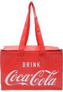Bolsa Térmica Coca-Cola®- Vermelha & Branca- 20X30X2Urban