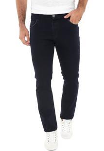 6d7d0612e ... Calça Jeans Mr Kitsch Reta Básica Azul-Marinho