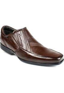 Sapato Masculino Couro Sola Flexível Nevano - Masculino
