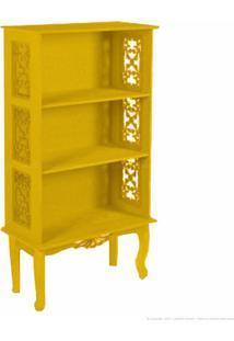 Estante/Livreiro Colonial Atz 99 Amarelo - Artezanal