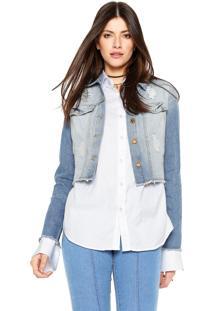 Jaqueta Dimy Jeans Azul