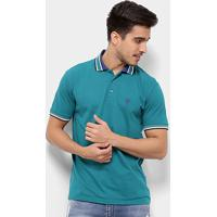 50213d7d98a5d Camisa Polo Cavalera Básica Listras Masculina - Masculino
