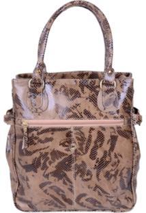 Bolsa Artlux Bag Amêndoa
