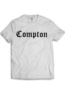 Camiseta Skill Head Compton - Masculino-Branco