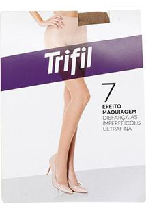 Meia-Calça Trifil Invisível Fio 7 - Feminino-Areia