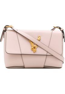 Versace Bolsa Tiracolo Virtus Grande - Rosa