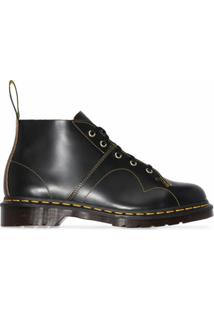 Dr. Martens Ankle Boot Church Com Amarração - Preto