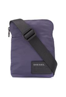 Diesel Bolsa Carteiro F-Discover - Azul