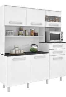 Cozinha Compacta Suprema 6 Pt 2 Gv Branco