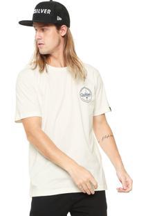 Camiseta Quiksilver Lighteni Off-White