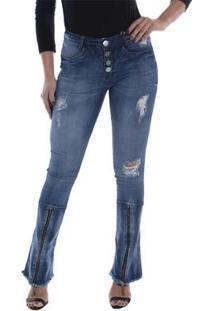 Calça Jeans Osmoze Boot Cut Feminina - Feminino