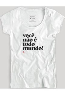 Camiseta Reserva Todo Mundo Reserva Branco - Tricae