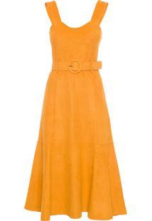 Vestido Isabela - Amarelo