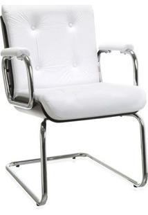 Cadeira Aproximacao Andisia Tabaco/Branco Etna