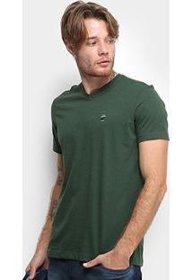 Camiseta Ellus Flame Fine Ellus Industry Co Masculina - Masculino-Verde