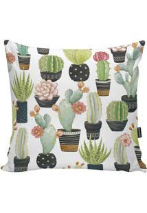 Capa Para Almofada Garden- Verde & Verde Claro- 45X4Stm Home
