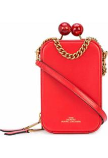 Marc Jacobs Bolsa Transversal The Vanity - Vermelho