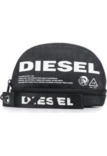 Diesel Porta-Moedas New D-Easy - Cinza