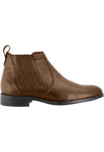 Bota Hb Agabe Boots Conforto Elástico Masculino - Masculino-Marrom