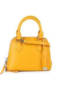 Bolsa Santa Lolla Handbag Risco Feminina - Feminino-Amarelo