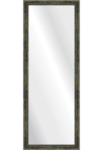 Espelho Demolição Azul 48X128Cm