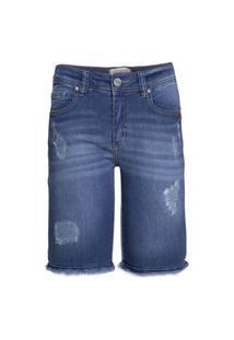 Bermuda Jeans Destroyer