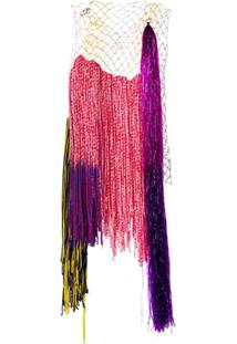 Calvin Klein 205W39Nyc Blusa Com Contraste - Rosa