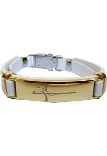 Bracelete Fã© Branco. - Branco - Masculino - Dafiti