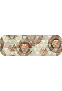 Passadeira Buttons And Triangles Único Love Decor - Kanui
