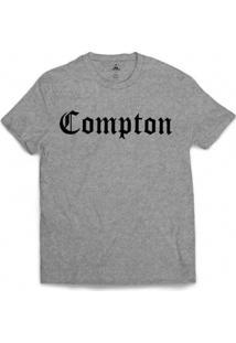 Camiseta Skill Head Compton - Masculino-Cinza