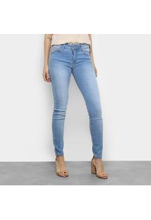 f6b7b2a50 ... Calça Jeans Skinny Colcci Fátima Cintura Média Feminina - Feminino