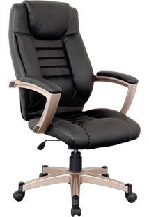 Cadeira Oficce Pvc Pu Catalunha -Rivatti - Preto