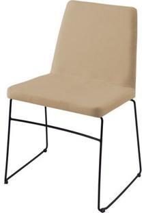 Cadeira Avec Bege Base Preta - 55903 Sun House