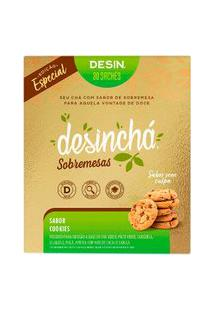 Chá Desinchá Sobremesas Sabor Cookies Com 30 Sachês