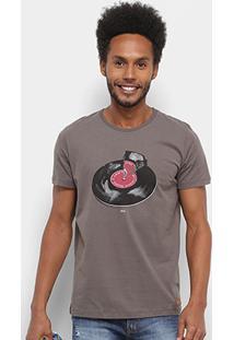 Camiseta Colcci Disco Music Masculina - Masculino