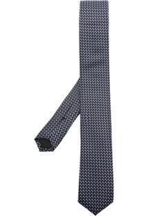Boss Hugo Boss Gravata De Seda Estampada - Estampado
