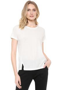 Camiseta Ana Hickmann Básica Off-White