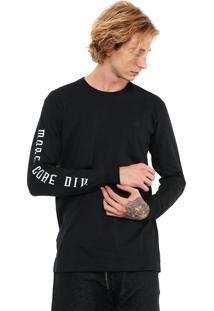 Camiseta Mcd More Core Preta