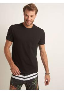 Camiseta John John Rg Basic Malha Preto Masculina Tshirt Rg Basic Preto-Preto-G