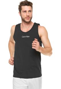 40e7010464cbf ... Regata Calvin Klein Underwear Logo Preta