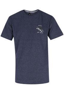 Camiseta Fatal Estampada 20414 - Masculina - Azul Escuro